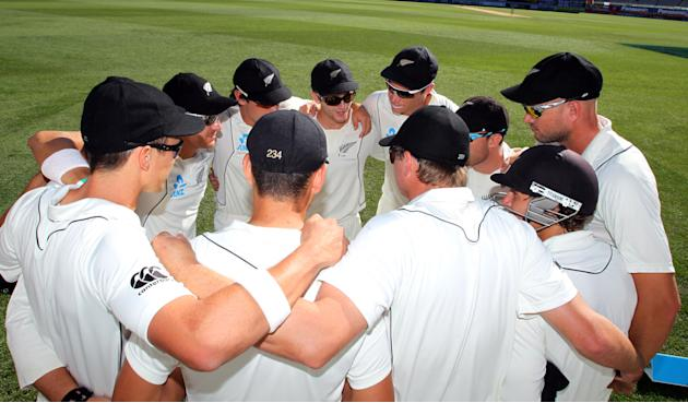 CRICKET - NZL - ENG