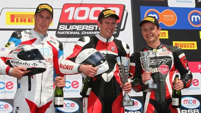 Superbikes - Knockhill BSB: Burns claims third Superstock 1000 podium of the year