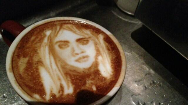 Barista Artist's Amazing Coffee Art