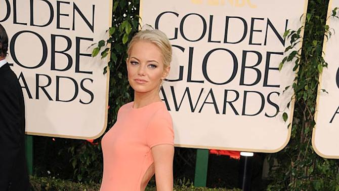 Emma Stone Golden Globe Awards