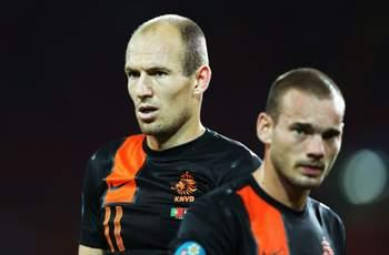 Sneijder & Robben omitted from Netherlands squad for Italy friendly
