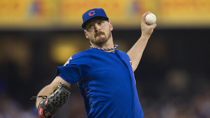 Wood, Valbuena lead Cubs to 3-2 win over Padres