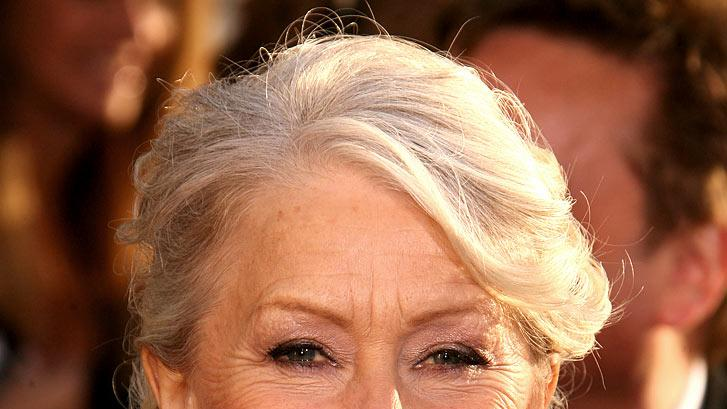 Helen Mirren at the 64th annual Golden Globe Awards.