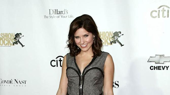 Sophia Bush arrives at 4th Annual Fashion Rocks at Radio City Music Hall on September 6, 2007.