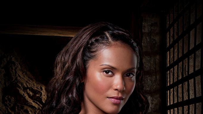 "<a href=""/baselineperson/4115747"">Lesley-Ann Brandt</a> as Naevia in ""Spartacus: Gods of the Arena."""
