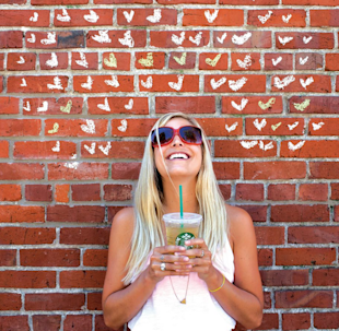 5 Reasons Why Starbucks' Pinterest Strategy is Not A Big Hit image Happy Place Photo for Starbucks