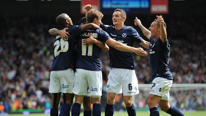 Football - Millwall hang on to inflict another Fulham defeat
