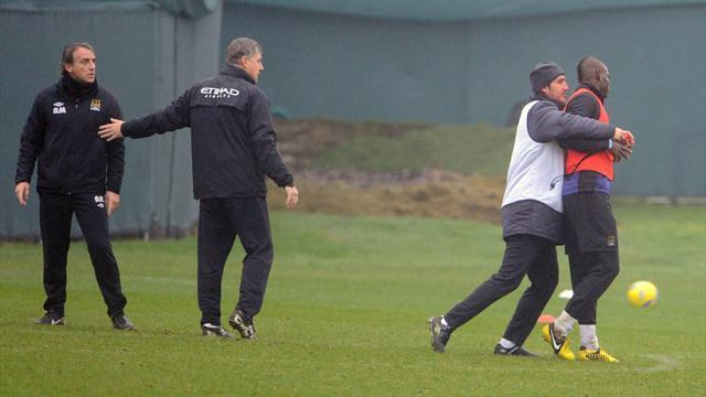 Premier League - Mancini: No action over Balotelli bust-up
