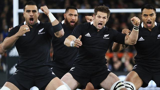 Rugby - All Blacks to play Pumas in Napier in Rugby Championship