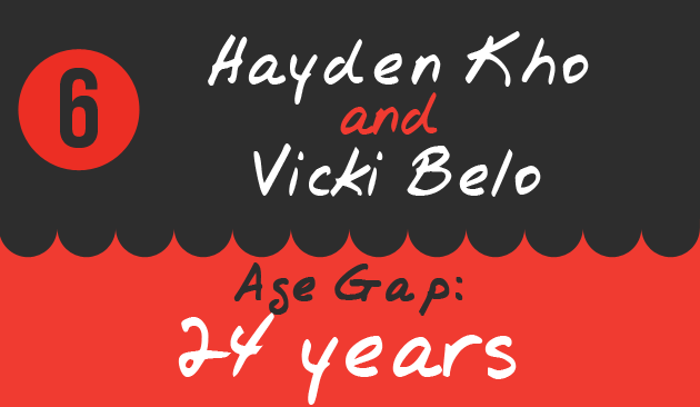 6. Hayden Kho and Vicki Belo, Age Gap: 24 years
