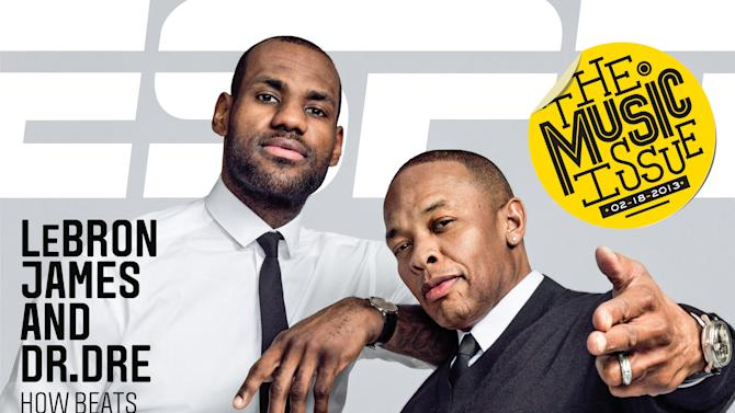 Sports Stars Remake Classic Album Covers for ESPN The Magazine