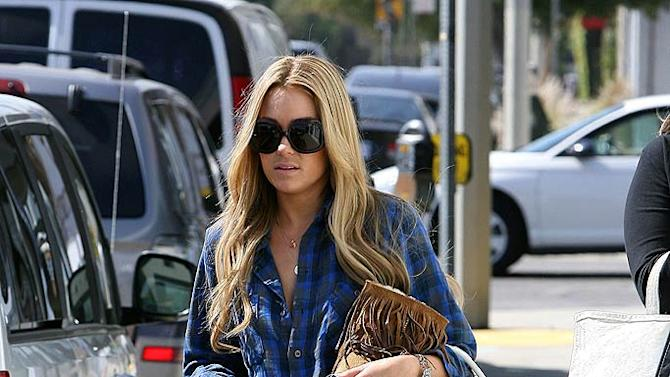 Conrad Lauren Leaving Hair Salon