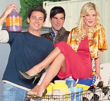 "James Carpinello, Zachary Quinto, Tori Spelling VH-1's ""So Notorious"" Zachary Quinto"
