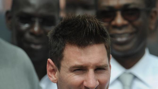 Lionel Messi in Senegal