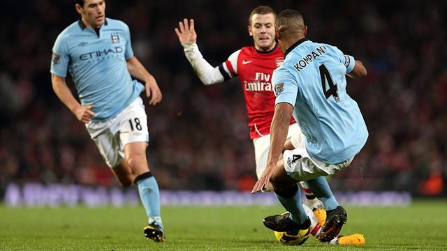 Friendly Match - Arsenal put three past Man City in Finland