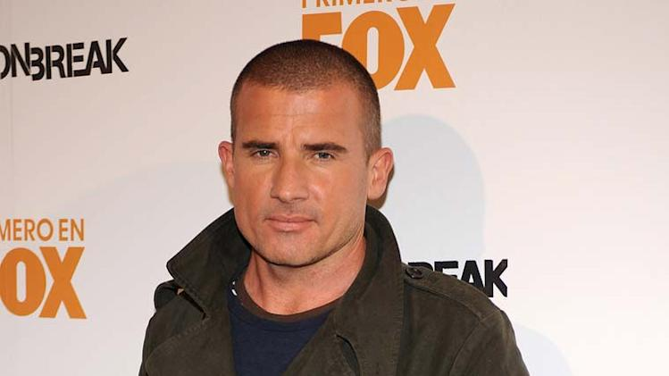 Dominic Purcell attends the opening of Casa Fox.