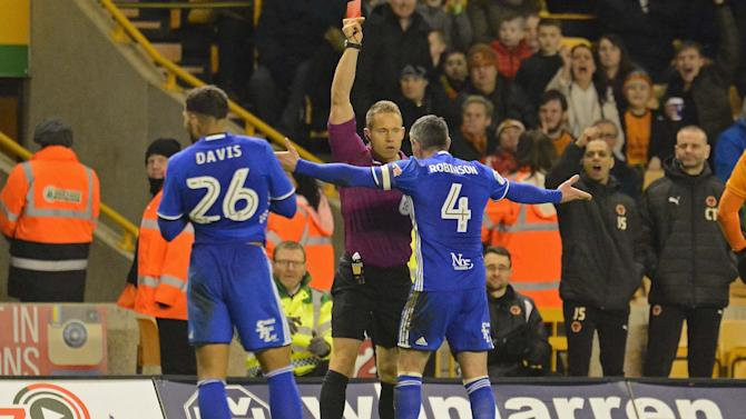 Wolverhampton Wanderers 1 Birmingham City 2: David Davis seals points for 10-man Blues to ease pressure on Gianfranco Zola