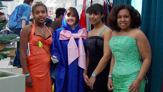'Fairy Godmother' Delivers Prom Dresses to Girls in Need