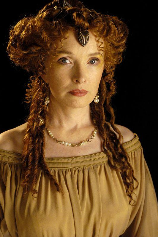 Lindsay Duncan plays Servilia of the Junii in Rome on HBO.