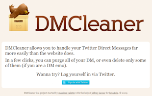 Twitter: Save Time Deleting All DMs with DM Cleaner image dm cleaner 01 550x349