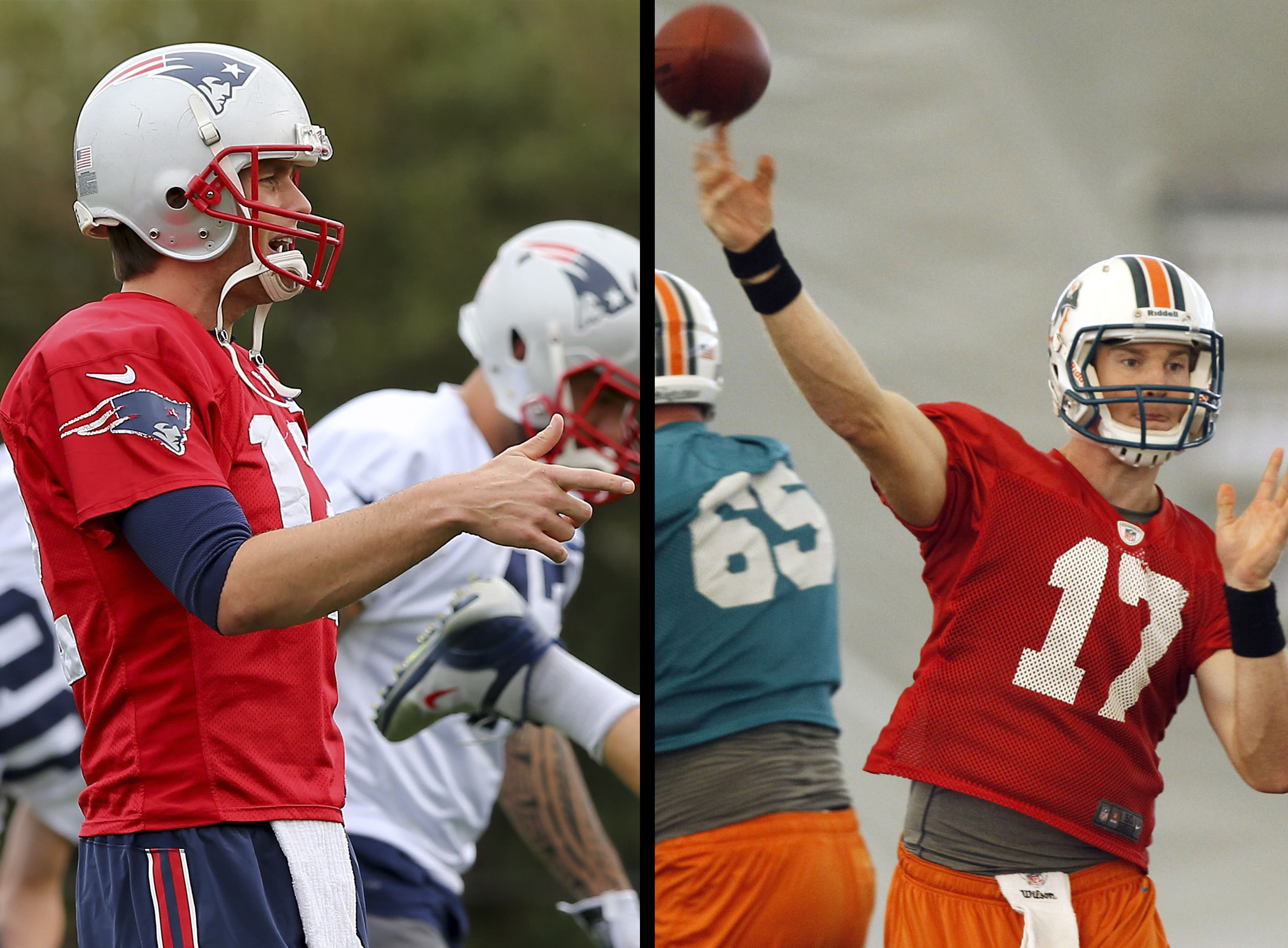 Brady treats scout team players much differently than Tannehill