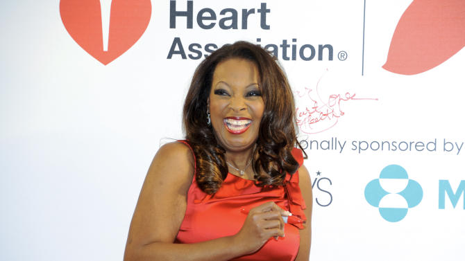 "FILE - In this Feb. 3, 2012, file photo,. tlevision personality Star Jones makes an appearance to promote the national ""Go Red For Women"" campaign, in support of heart disease awareness, at Macy's Herald Square in New York. Jones launched a campaign that reflect an emerging trend among African American women: Finding creative ways to combat the obesity epidemic that poses a threat to their longevity. African-American women have the highest rate of obesity of any group of Americans. Four out of five black women have a body mass index above 25 percent, the threshold for being overweight or obese, according to the Centers for Disease Control and Prevention. By comparison, nearly two-thirds of all Americans are in this category, the CDC said. (AP Photo/Evan Agostini, File)"