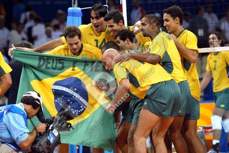 -	Volleyball: Brazil won the Volleyball World League title.