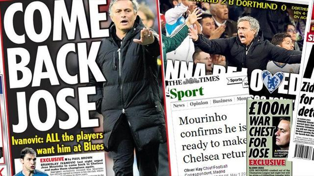 Premier League - Paper Round: Jose and Lampard at Chelsea next season
