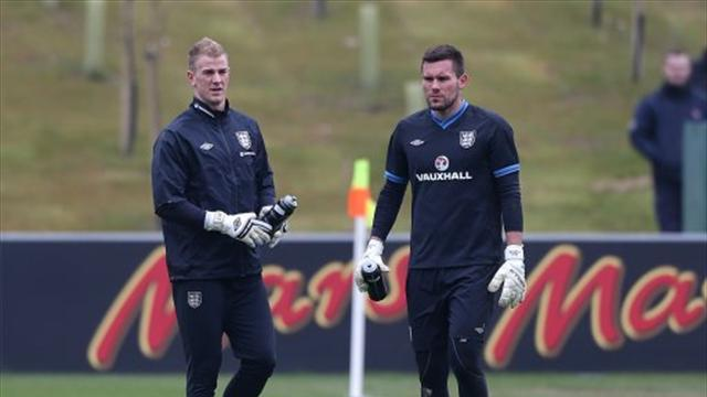 World Cup - Hart ready to battle Foster for England spot