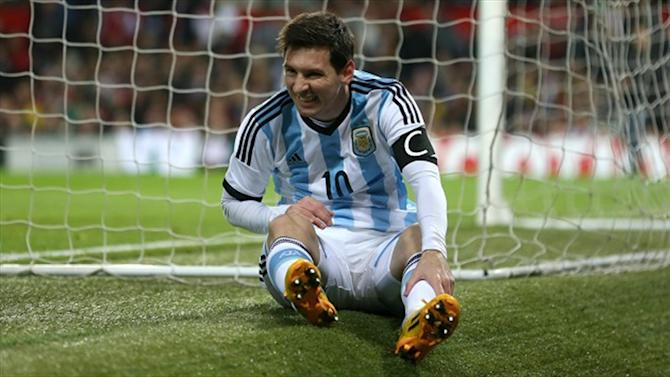 Football - Lionel Messi could sit out for Argentina