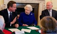 Queen At Downing Street For Cabinet Meeting