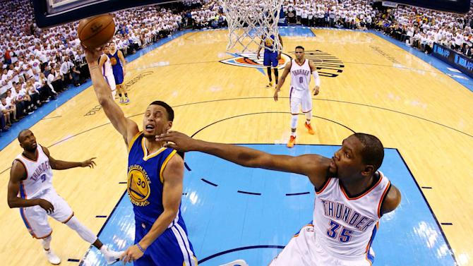 The Fifth Quarter: Thunder reign down on Warriors, pushing defending champs to brink
