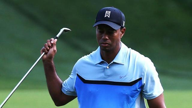 Golf - Tiger Woods endures nightmare day at Torrey Pines