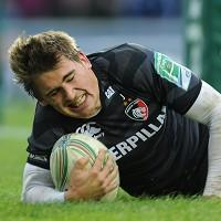 Toby Flood scored 24 points for Leicester in a match-winning display