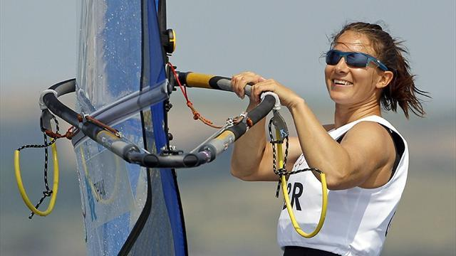 Sailing - Shaw not blown off course in pursuit of World Cup success