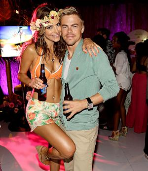 Maria Menounos Celebrates Birthday With Khloe Kardashian, Kris Jenner, Derek Hough at Luau-Themed Party
