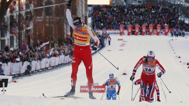 Cross-Country Skiing - Johaug's absence hands Kowalczyk fourth World Cup crown