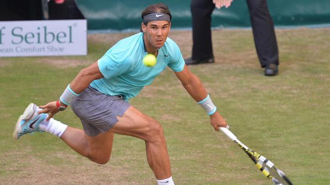 Tennis - Nadal stunned in first grass court match of season