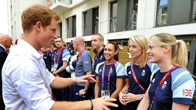 Harry and athletes
