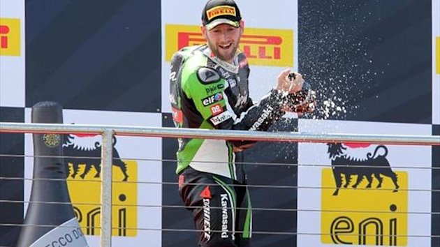 Donington WSBK: Sykes does career best double