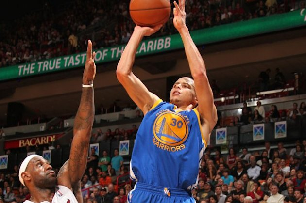 Stephen Curry, le meneur vedette des Golden State Warriors