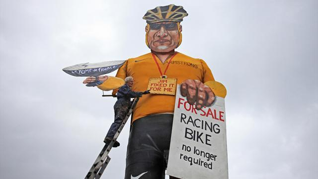 Cycling - Lance Armstrong effigy to burn on bonfire night