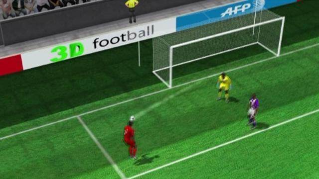 Sakho's goal for PSG in 3D