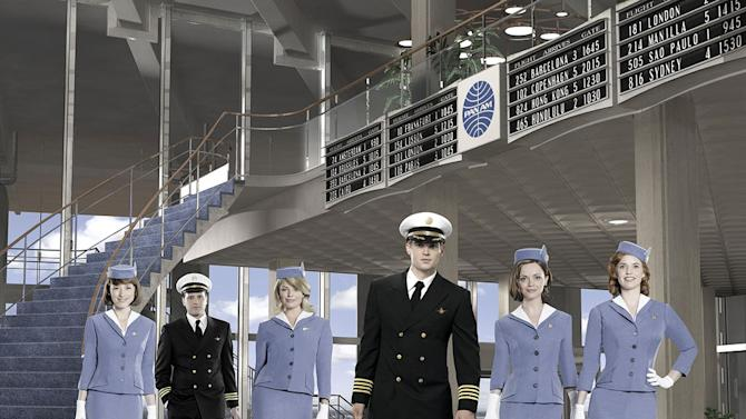"""The cast of """"Pan Am."""""""