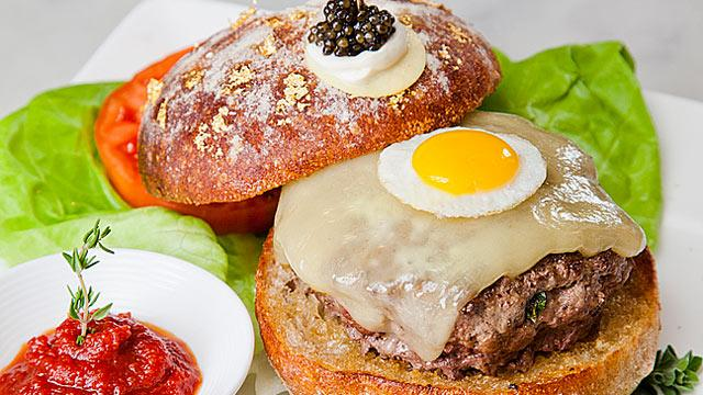 Top 5 Most Expensive Burgers