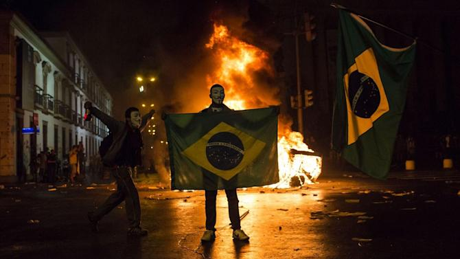 World Cup - Police braced for trouble ahead of World Cup opener