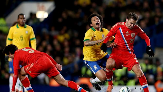 Russia v Brazil - International Friendly