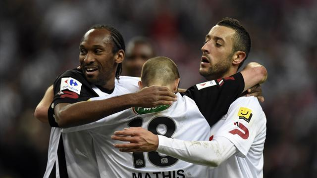 Ligue 1 - Guingamp beat Rennes again to win French Cup