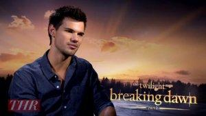 'Breaking Dawn': Taylor Lautner Reveals His Favorite 'Awkward' Scene From The Twilight Saga (Video)