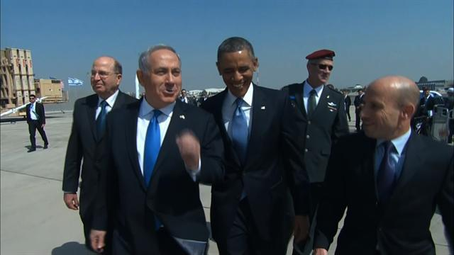 President Obama wrapped up the first day of his Middle East trip